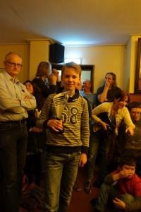 de eerste prijs voor Ben Mulder